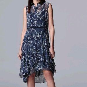 Simply Vera Vera Wang Ruffled Shirt Dress